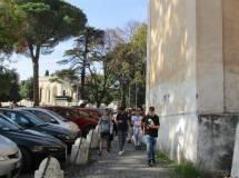 La palla di cannone a San Pietro in Montorio