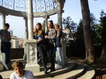 Un poco di magia al sesto bastione: in posa <i>le fate</i> Alessia Ponga, Lorena Di Cesare, Arianna Spadafora