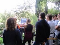 Una alunna più risoluta spiega l'attacco a tenaglia dei francesi dal settimo bastione