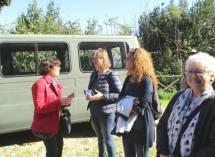 Saluti finali: da sin. le prof. Marisa Perpetua, Paola Presentini, Sabrina Pantani e la nostra Ivana Colletta