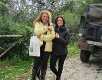 Noemi e Gea Grimaldi insieme, felici