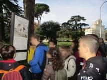 Subito si legge un altro pannello al Mausoleo Caduti per Roma