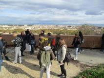 Al Belvedere i ragazzi apprezzano la Costituzione 1849 ma anche la vista su Roma…
