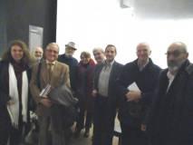 Foto di gruppo per i soci: Cavicchia, Savelli, Capoccetti, Cardellini, Donghia, Luciani, Pagano, D'Auria, con Maurizio Marrale