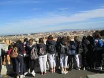 Uno sguardo al panorama di Roma dal Fontanone