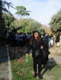 Il cannone ha sparato: la prof. Savina Morrone sembra stordita…