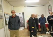 Il nuovo socio Stefano Frontespezi, medico; accanto a lui Cerulli, Savelli, Capoccetti e Cardellini