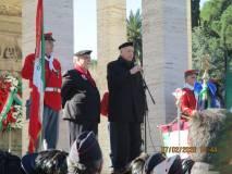 L'intervento di Alessandro Cortese De Bosis , già ambasciatore e Presidente dell'Associazione Nazionale Combattenti della Guerra di Liberazione