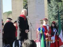 L'intervento di Francesco Hibbert, figlio di Anita Garibaldi oggi assente