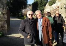 Ma tra gli amici di Massimo anche Tonino Cutuli, che incontra Enrico Luciani: ..eravamo dirigenti Enel