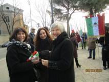 Gemma Guerrini con Antonella Bertolini e Tina Ragni del Cerimoniale