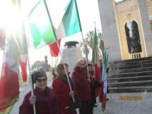 Anche le nostre bandiere lungo il percorso