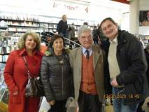 Daniela Donghia, Giovanna De Luca, Enrico Luciani con Paolo Masini
