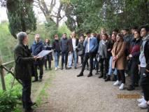 """Giacomo Bucolo al settimo bastione spiega come si muove l'attacco """"a tenaglia"""" dei francesi"""