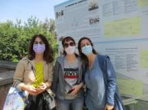 Contente anche le mamme: da sinistra Stefania Aldini, Manrica Savelli, Chiara Gili