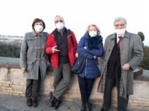 Giovanna de Luca , Massimo Capoccetti, Ines Pieracci, Enrico Luciani, confidano nella mattinata del 17 marzo