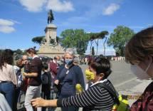 Appuntamento a Piazzale Garibaldi. Ilaria Di Giustili affianca Penelope Filacchione, Presidentessa ArtSharing