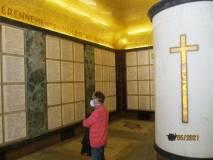 Da pochi giorni si può rientrare al Mausoleo e vedere pure la cripta … finalmente