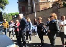 All'ottavo bastione- al casino Merluzzo (detto anche casino Malvasia)- si ricorda l'eroismo di Emilio Morosini