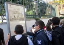 L'estrema difesa a Villa Spada, dalla lettura del pannello illustrativo