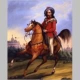 15 Garibaldi a cavallo, sullo sfondo Castel Sant'Angelo_t