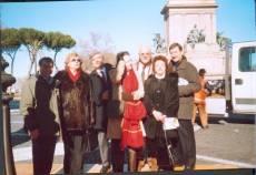 PIAZZALE GARIBALDI installazione PANNELLO 9 (Il Gianicolo e la Repubblica Romana): sostenitori del Comitato Gianicolo