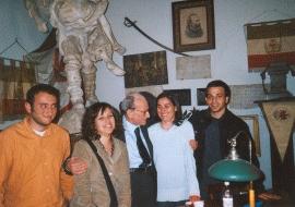 con Mauro Ferri (al centro) Roberto Calabria, Viola Contursi, Mariapaola Pietracci Mirabelli, Alessandro Ascoli