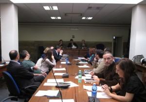 il Consiglio del I Municipio presieduto da Sergio Marchi