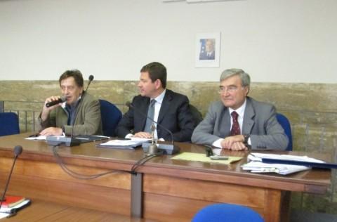 L'intervento di Massimo Wertmuller, cui seguirà quello di Enrico Luciani