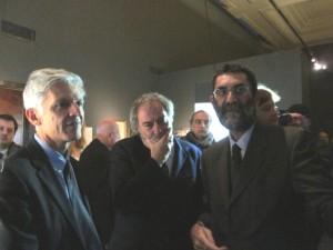 il dott. Marco Pizzo, vice Direttore del Museo Centrale per il Risorgimento, introduce alla mostra il Ministro Massimo Bray