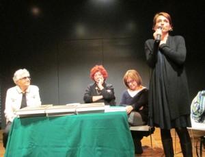 l'intervento di Cristina Maltese, Presidente del XII Municipio