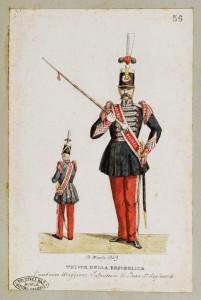 Tamburo maggiore - 2° Rgt.Fanteria – 1849 Raccolta Piroli – Museo Centrale del Risorgimento