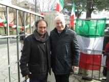 Il saluto ad Aldo Cazzullo del nostro giovane giornalista Roberto Calabria