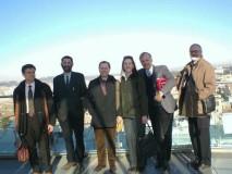 Un nostro ricordo del prof. James Walston al Vittoriano insieme a noi e ai coniugi americani Mc Guigan