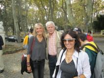 Si incontra la I BT: Giampiero Panichelli con le proff. Loredana Cerasi e Irene Falconi