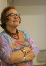 La prof.ssa Cristina Giorcelli saluta gli autori e ricorda Margaret Fuller  e il Convegno organizzato nel 2000 dalla Mazzini Society all'Accademia Americana
