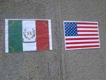 La storia unisce la bandiera della Repubblica Romana a quella americana