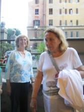 Ma a Donna Olimpia arriva anche ANITA GARIBALDI, pronipote dell'eroe dei due mondi
