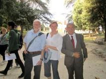 Luciani Enrico accompagna il prof. Steven C. Hughes e la signora Sue Cornish