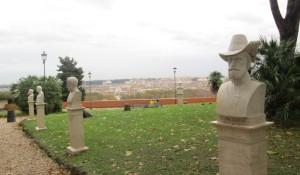 stabile  il Belvedere, dove è incisa la Costituzione del 1849