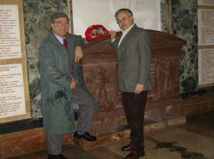 Cipriani al mausoleo 1