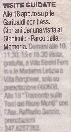 Repubblica 27 6 09