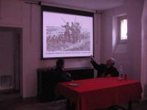 Enrico Luciani e Cesare Balzarro illustrano le fasi dell'assedio di Roma commentando le litografie di Auguste Raffet