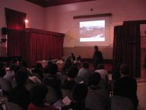 Enrico Luciani e Gianluca Bernardo durante la spiegazione dell'attacco del 30 Aprile.