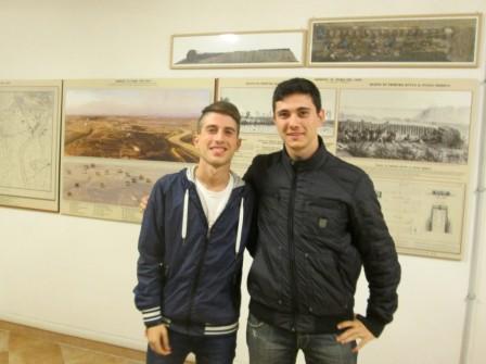 Massimiliano Bruni e Ivan Trinca