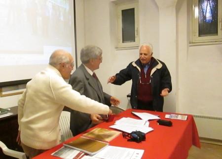 Gianfranco Martini saluta Luciani