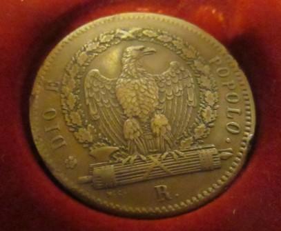 i tre baiocchi del 1849