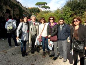 Foto di gruppo, da sinistra: Manuela Gagliano, Enrico Luciani, Elisabetta Puce, Paola Zerbino, Gabriele De Simone, Daniela Donghia