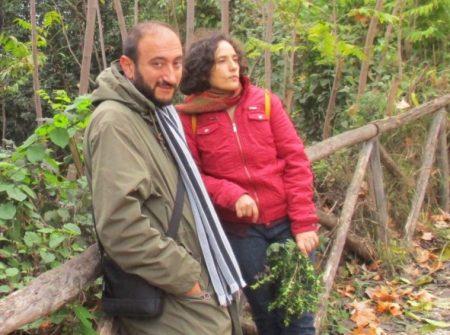 Roberto Calabria con la prof.ssa Fabiola Del Vecchio