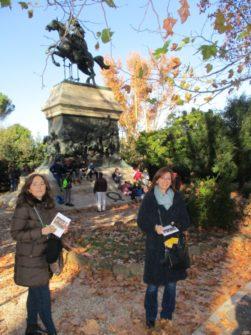 Da sinistra la prof.ssa Francesca Barsotti e la prof.ssa Paola Pesoli